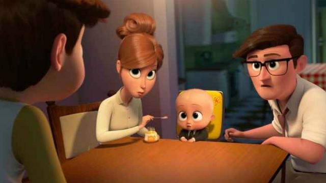 Cena da animação O poderoso chefinho, líder de bilheteria do fim de semana. Foto: DreamWorks/Divulgação