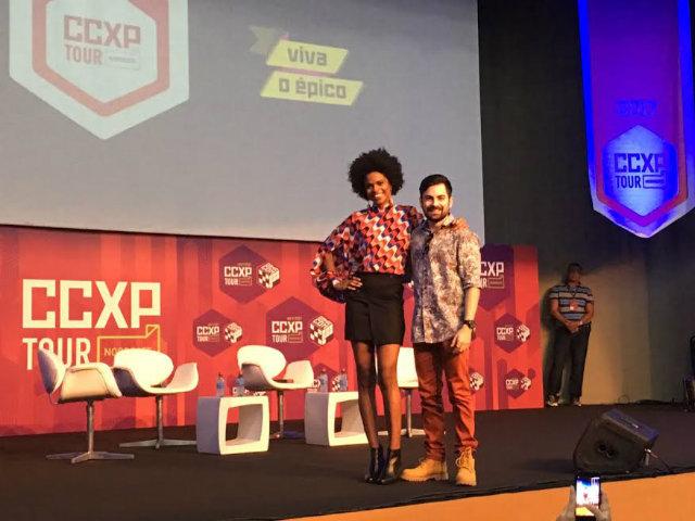Vaneza Oliveira e Rodolfo Valente participaram do evento. Foto: Tiago Barbosa/DP