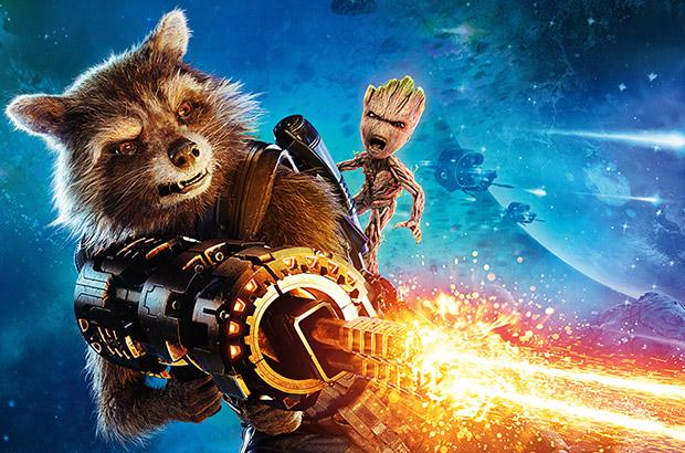 Rocket e Groot formam dupla inseparável. Foto: Marvel Studios/Divulgação