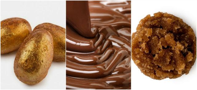 Golden Egg e esfoliante labial de chocolate e laranja estão entre os lançamentos da britânica Lush. Fotos: Lush/Divulgação