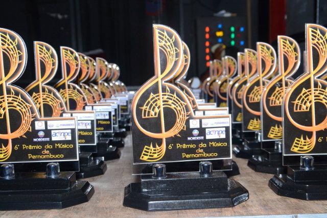 Evento se divide em 16 categorias e contempla trabalhos lançados em DVD, CD ou videoclipe. Foto: Prêmio da Música de Pernambuco/Reprodução