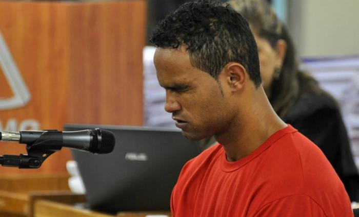 Audiência do caso do goleiro Bruno. Foto: Renata Caldeira, TJMG