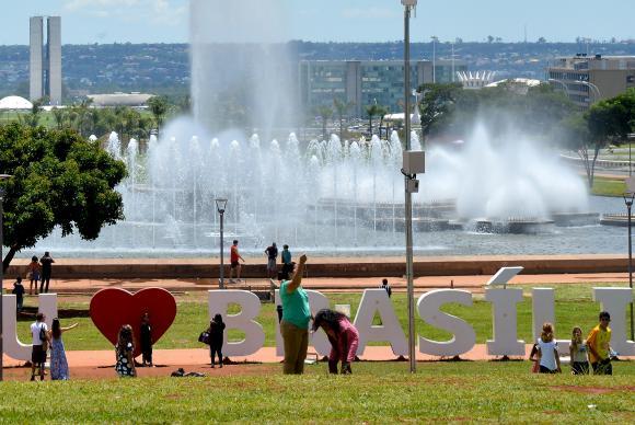 Torre de TV vai receber programação especial para os 57 anos do aniversário de Brasília. Foto: Elza Fiúza/Agência Brasil