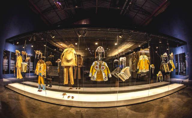 Cais do Sertão possui roupas usadas por Luiz Gonzaga. Foto: Cais do Sertão/Divulgação
