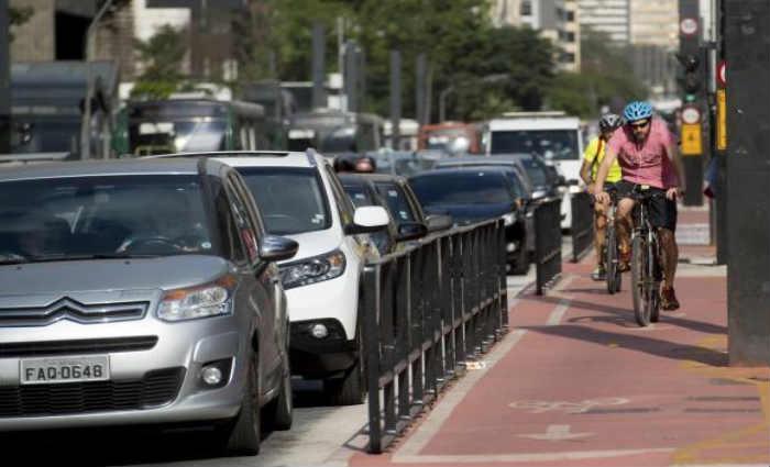 Mudança atingirá parte dos 400 quilômetros de vias de tráfego para ciclistas. Foto: Agência Brasil