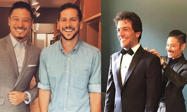 O gênio do bespoke conquistou personalidades como o artista Caio Braz e o ator Rodrigo Lombardi. Foto: Reprodução Instagram