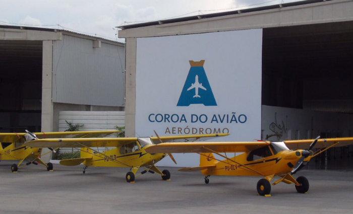 Localizado em Igarassu, município pernambucano, a área de pouso é considerado o primeiro aeródromo privado do país. Foto: Aeródromo Coroa do Avião/Divulgação
