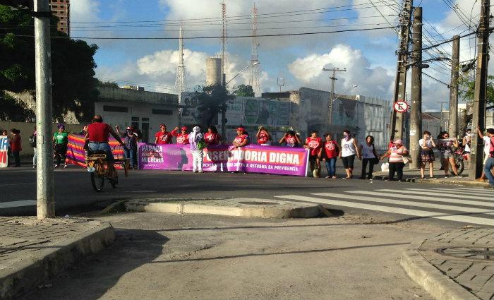 A Companhia de Trânsito e Transportes Urbanos (CTTU) enviou uma equipe ao local. Foto: Isabela Veríssimo/Esp. DP