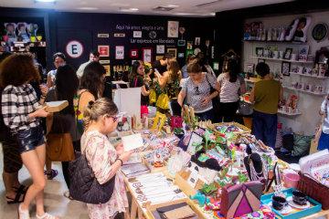 A pop up itinerante fica no piso L1 do Riomar entre os dias 2 de maio e 15 de junho. Foto: Casa Viva/Divulgação