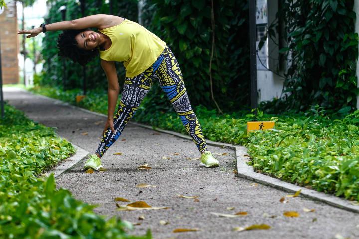 Roupas podem ser diferencial para alcançar objetivos com exercícios (Rafael Martins/DP)