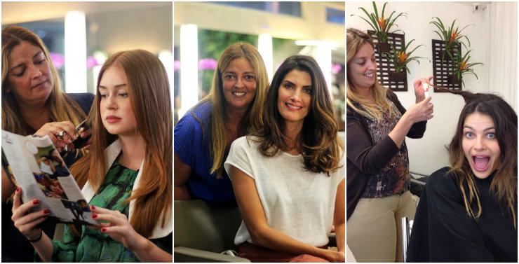 Marina Rui Barbosa, Isabella Fiorentino e Isabeli Fontana estão entre os nomes famosos da clientela do SpaDios. Fotos: SpaDios/Divulgação