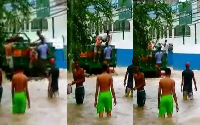 Roubo ocorreu em Jaboatão dos Guararapes. Foto: Twitter/Reprodução