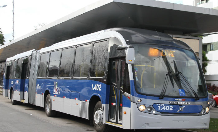 BRT ganhará reforço com três novas estações neste ano. Foto: Julio Jacobina/ DP