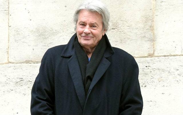 No final do ano, Delon vai rodar um filme sob a direção do francês Patrice Leconte. Foto: AFP/Reprodução
