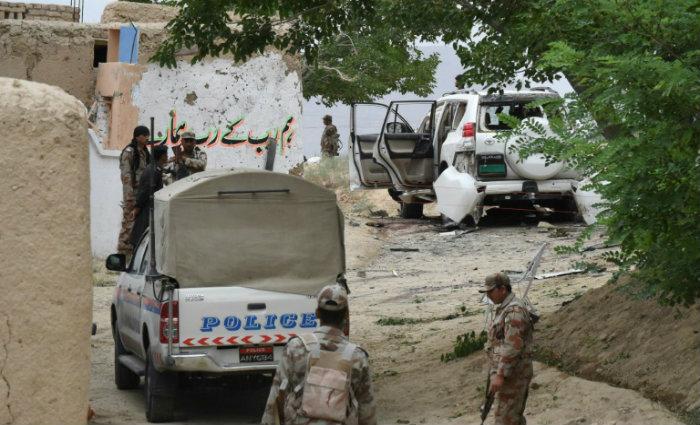 Trinta pessoas ficaram feridas no ataque, segundo o médico Daad Muhammad, administrador de um hospital local. Foto: BANARAS KHAN/AFP