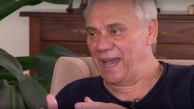 Rezende deu entrevista sobre situação médica antes de ser hospitalizado. Foto: Record/Reprodução