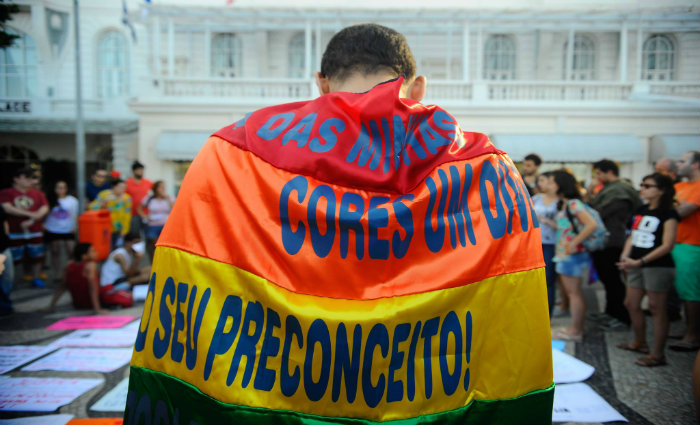 O importante é pensar que há vida após a violência homofóbica. Foto: Tania Rego/Agencia Brasil