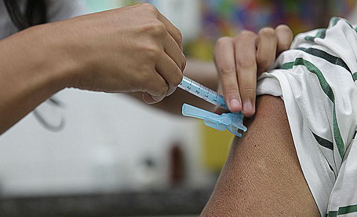 A meta do governo é vacinar 90% desse grupo até o dia 26 de maio. Foto: SES/Divulgação