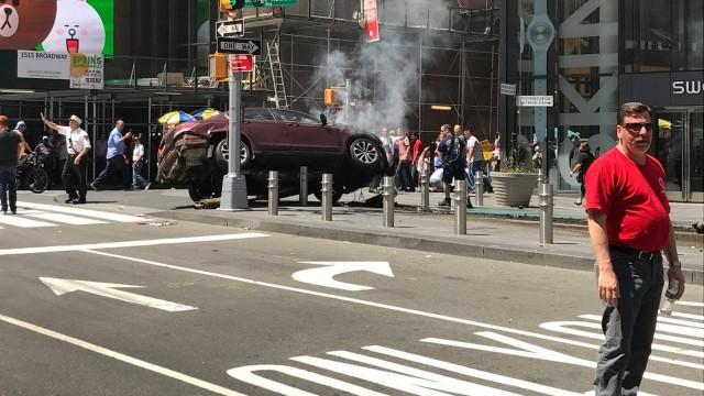Trânsito está bloqueado na área - Foto: Reprodução/Twitter