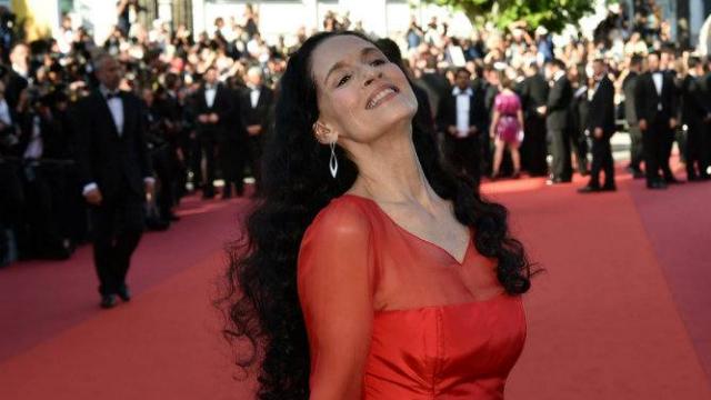 No ano passado, Braga esteve em Cannes com a equipe de Aquarius, filme do pernambucano Kleber Mendonça Filho. Foto: Alberto Pizzoli/AFP
