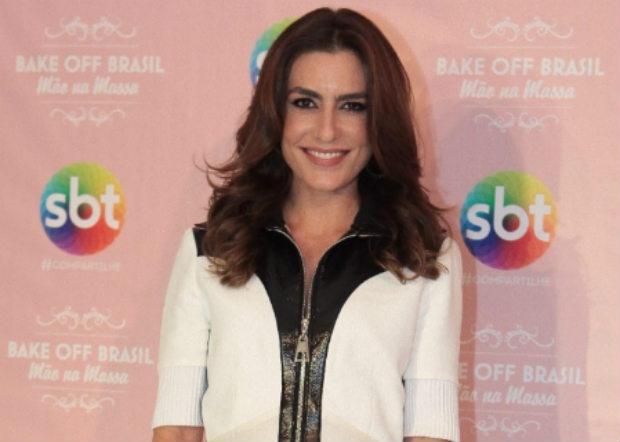Ticiana Villas Boas é apresentadora do SBT. Crédito: Leonardo Nones/SBT/Divulgacao