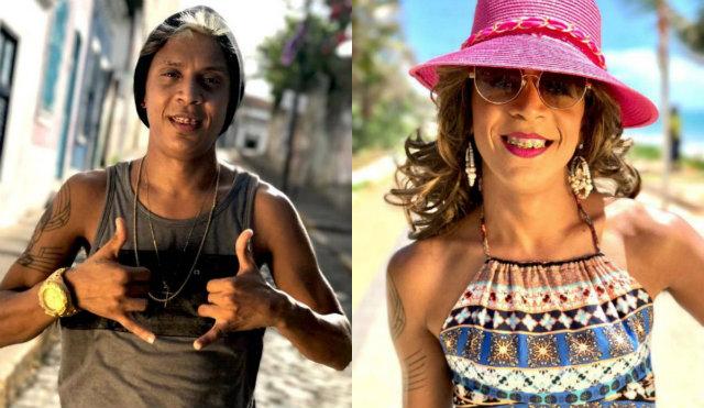 Para a caracterização, Troia contou com a ajuda da esposa Jéssica e de uma maquiadora profissional. Foto: Pro Rec/Divulgação
