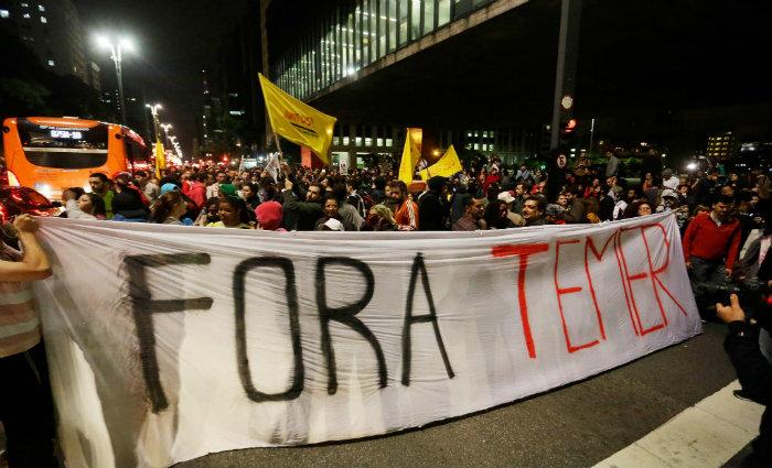 A oposição enxerga três caminhos. O mais rápido seria a cassação da chapa Dilma Rousseff-Michel Temer no Tribunal Superior Eleitoral (TSE). Foto: NELSON ANTOINE/ESTADÃO CONTEÚDO