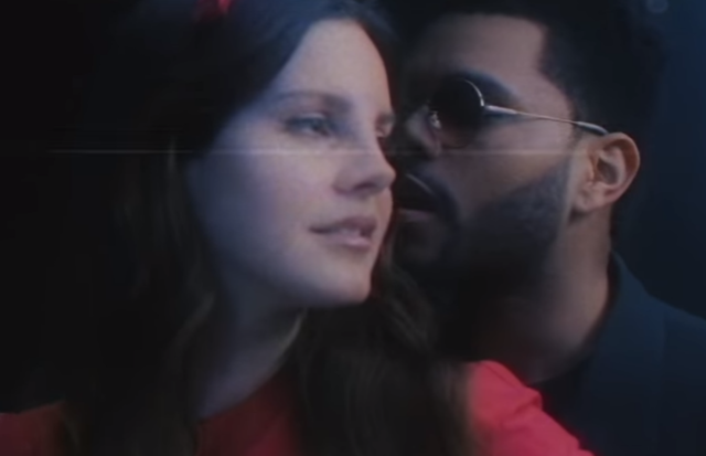 m clima vintage, Lana Del Rey e The Weeknd cantam juntos em Lust for life. Foto: YouTube/Reprodução