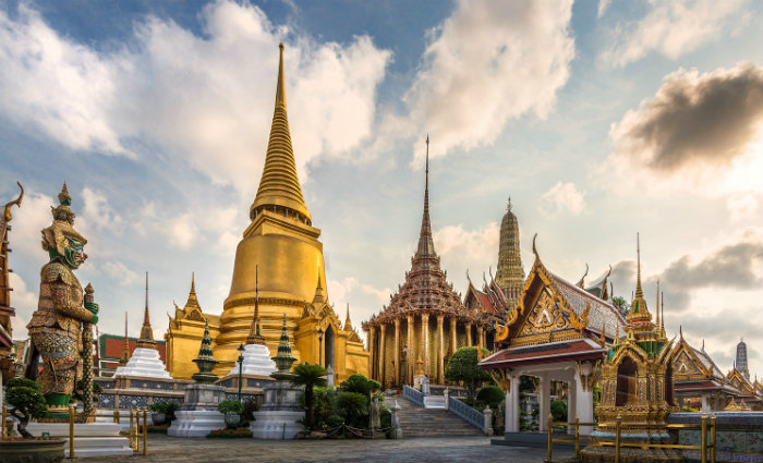 Grande Palácio Real é a principal atração turística da capital