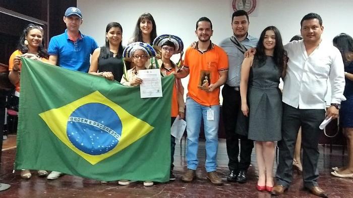 Eles disputaram com outras seis equipes latino-americanas. Foto: Secti/Divulgação (Eles disputaram com outras seis equipes latino-americanas. Foto: Secti/Divulgação)