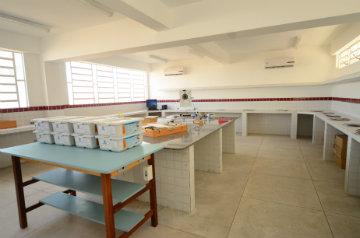As aulas dos cursos técnicos são ministradas em paralelo à grade curricular obrigatória do Ensino Médio. Foto: Alyne Pinheiro/Divulgação