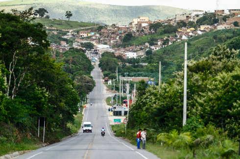 Chã Grande tem desníveis geográficos acentuados, próprios tanto para vulnerabilidade ao tempo, quanto para a medição dele. Foto: Rafael Martins/DP (Rafael Martins/DP)