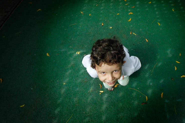 """O pequeno Pedro Henrique quer que o próximo aniversário seja """"verde"""", tendo Natureza como tema. Foto: Rafael Martins/DP (Rafael Martins/DP)"""