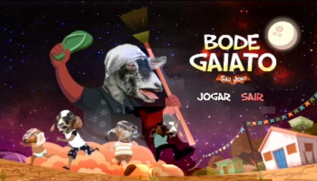 Desenvolvido pela empresa recifense Guikel, game está disponível para sistemas operacionais iOS e Android. Foto: Bode Gaiato/Reprodução