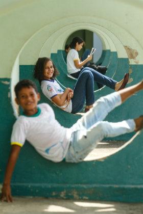 Os alunos do 6º ano foram os primeiros a vivenciar o ensino integrado, que deve ser implementado nas outras turmas durante os próximos anos. Foto: Rafael Martins/DP