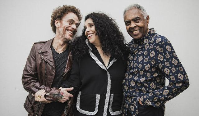 Trio se apresentou em Brasília e turnê passará por São Paulo, Rio de Janeiro e Recife, pelo menos. Foto: Daryan Dornelles/Divulgação