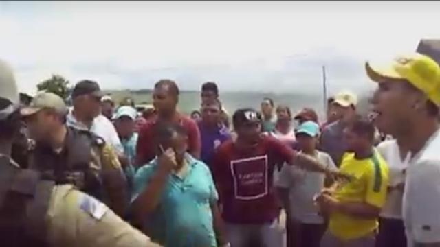 Estado de Pernambuco assina acordo de reparação à família de Edvaldo da Silva Alves. Foto: Reprodução/ WhatsApp