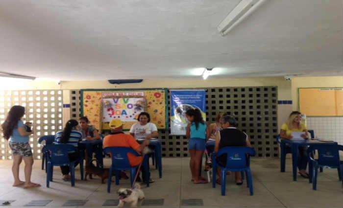 Dicas e orientações sobre cuidados e direitos dos animais foram dadas pelos profissionais de saude. Crédito: Gabriela Araújo/Esp.DP