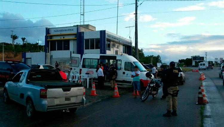 Acusado foi detido durante operação Lei Seca. Foto: PRF/Divulgação