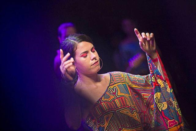 Lula Lira atuou na peça A paixão segundo Nelson. Foto: André Fofano/facebook afrobombas/reprodução