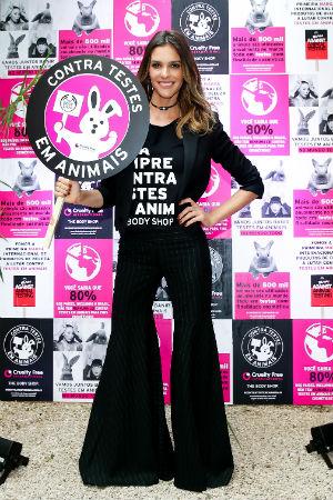 A apresentadora e modelo Fernanda Lima é a nova representante da The Body Shop no Brasil. Foto: The BodyShop/Divulgação