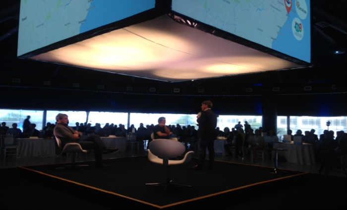 """O painel """"Ecossistema local de empreendedorismo e inovação"""" foi o primeiro do evento.Crédito: Gabriela Araújo/Esp.DP"""