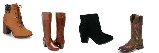 Para arrematar o look aposte em botas de couro de todos os tamanhos. Foto: Internet/Reprodução