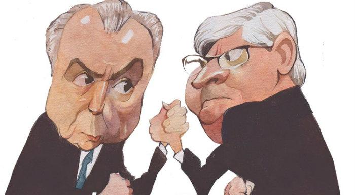 O peemedebista se tornou o primeiro presidente do Brasil denunciado por corrupção passiva no exercício do cargo. Arte: CB