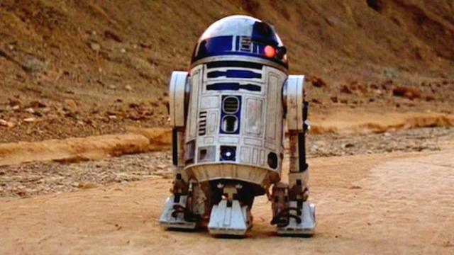 Um comprador não identificado desembolsou U$ 2,76 milhões para adquirir R2-D2. Foto: Lucasfilm/Reprodução