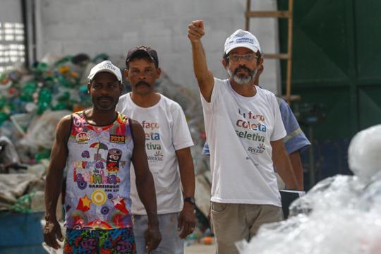 Ex-presidente Bili garante que a assiduidade dos catadores aumentou, os problemas com a bebida diminuíram e o desarranjo dos resíduos da cidade foi contido. Foto: Rafael Martins/DP