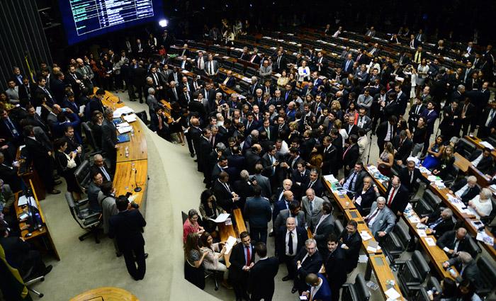 A maioria, 33 deputados, não quis responder à pesquisa e outros oito se declararam como indecisos. Foto: Nilson Bastian/Câmara dos Deputados