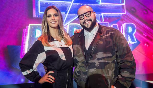 Popstar estreia sob comando de Fernanda Lima e reportagem de Tiago Abravanel. Foto: TV Globo/Divulgação