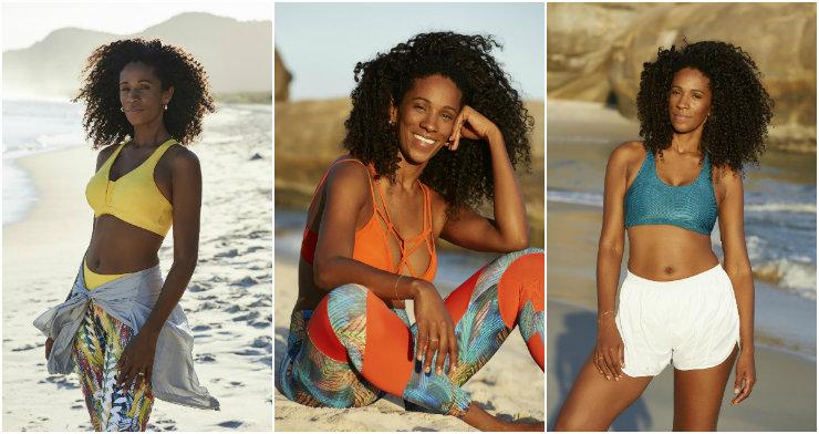 Iracema lança mão de modelagens ousadas e cores mais fortes, o que lhe garantiu sucesso na Alemanha. Fotos: Iracema Scharf/Divulgação