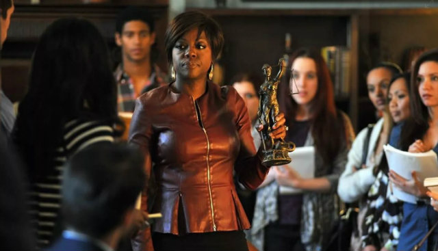 Viola Davis é Annalise Keating em How to get away with murder. Foto: ABC/Divulgação